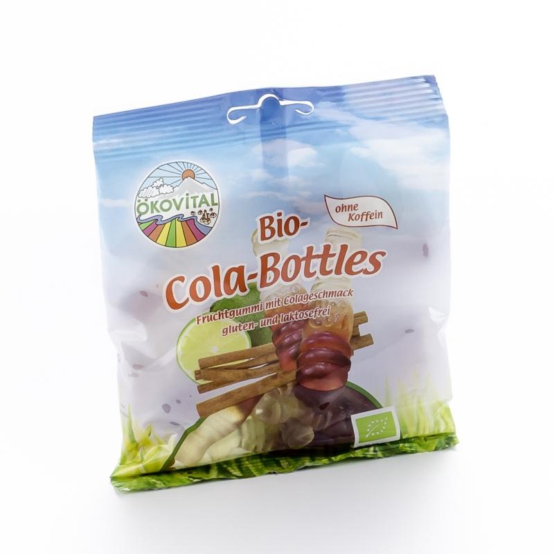 Ökovital Bio Colafläschchen Cola-Bottles mit Gelatine