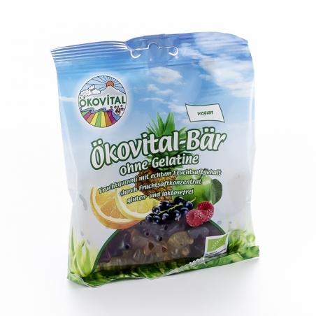 Ökovital Bio Gummibärchen Ökovital-Bär ohne Gelatine