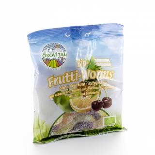 Ökovital Bio Fruchtwürmer sauer Frutti-Worms ohne Gelatine