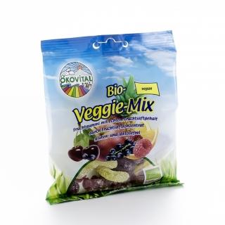 Ökovital Bio Fruchtgummi Veggie-Mix ohne Gelatine