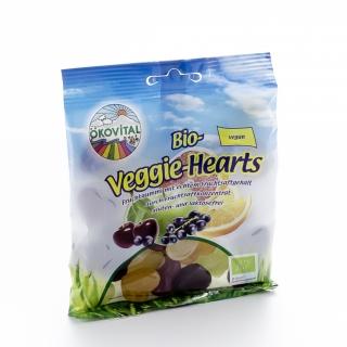 Ökovital Bio Fruchtgummi Veggie-Hearts ohne Gelatine