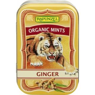 Rapunzel Bio Bonbons Organic Mints Ginger HIH