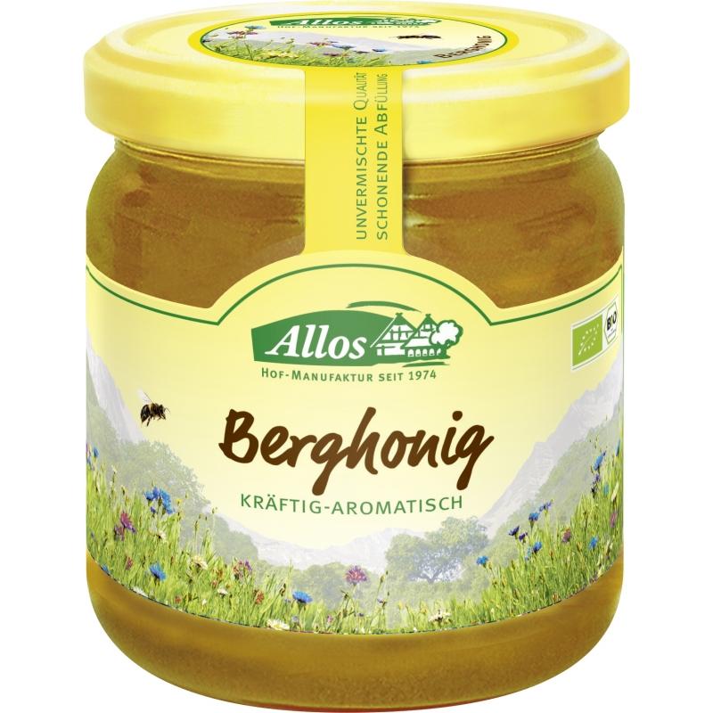 Allos Bio Berghonig Kräftig-Aromatisch