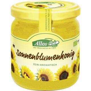 Allos Bio Sonnenblumenhonig Fein-Aromatisch
