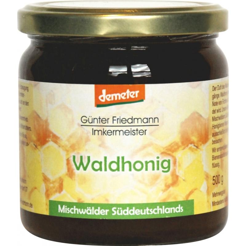 Friedmann Bio Demeter Waldhonig