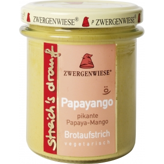 Zwergenwiese Bio Brotaufstrich pikante Papaya-Mango