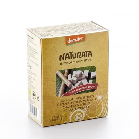 Naturata Bio Demeter Würfelzucker aus Roh-Rohrzucker