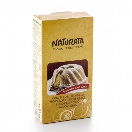 Naturata Bio Puderzucker aus Roh-Rohrzucker