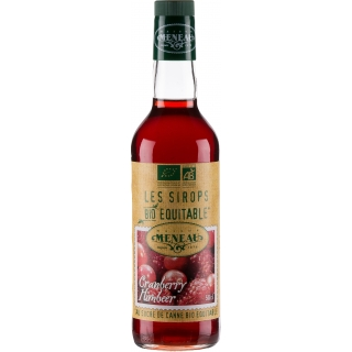 Meneau Bio Sirup Cranberry Himbeer