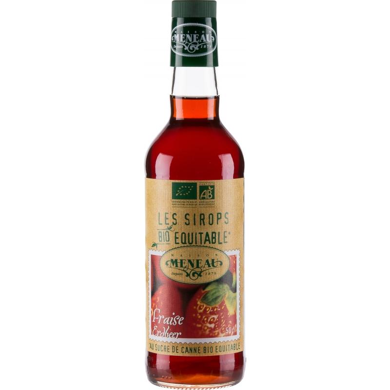 Meneau Bio Sirup Erdbeer