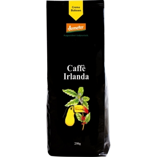 Henauer Bio Demeter Kaffee Irlanda Crema Bohnen
