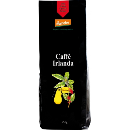 Henauer Bio Demeter Kaffee Irlanda Espresso Bohnen