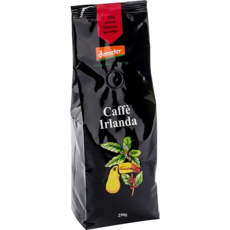 Henauer Bio Demeter Kaffee Irlanda Espresso gemahlen
