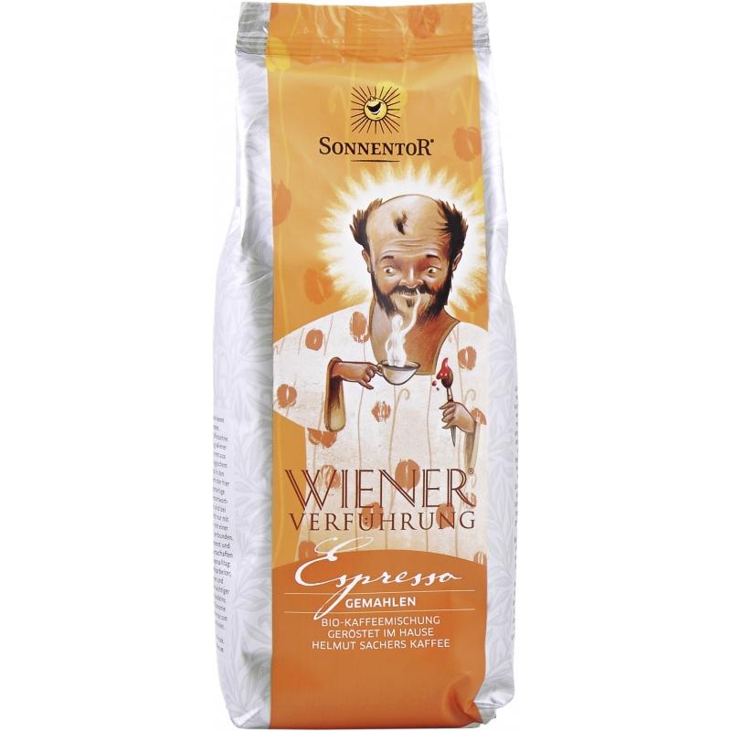 Sonnentor Bio Espresso Kaffee gemahlen Wiener Verführung
