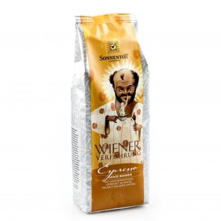 Sonnentor Bio Espresso Kaffee ganze Bohne Wiener Verführung