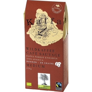 Original Food Bio Wildkaffee Medium Bohnen
