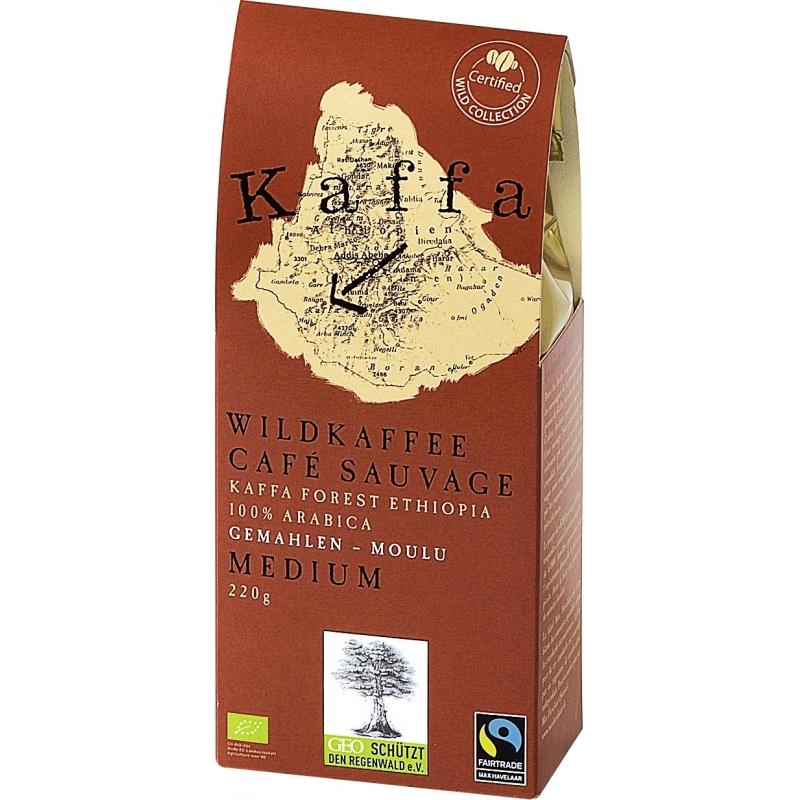 Original Food Bio Wildkaffee Medium gemahlen