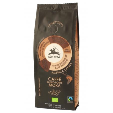 Alce Nero Bio Kaffee Mokka forte gemahlen Arabica-Robusta