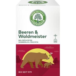 Lebensbaum Bio Früchtetee Beeren und Waldmeister