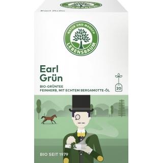 Lebensbaum Bio Grüntee Earl Grün