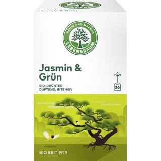 Lebensbaum Bio Grüntee Jasmin und Grün
