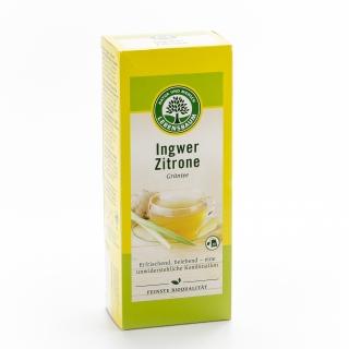 Lebensbaum Bio Grüntee Ingwer-Zitrone