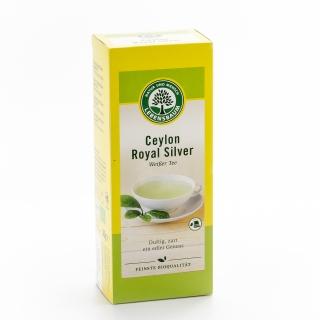 Lebensbaum Bio Weisser Tee Ceylon Royal Silver