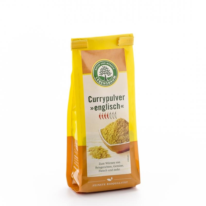 Lebensbaum Bio Curry englisch Pulver