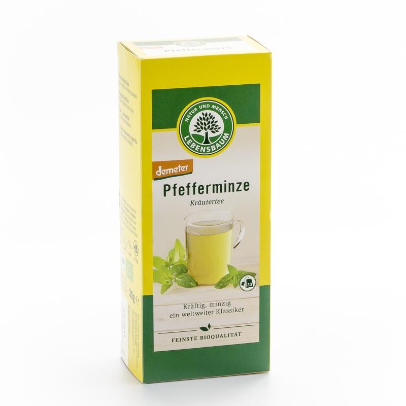 Lebensbaum Bio Demeter Pfefferminz-Tee