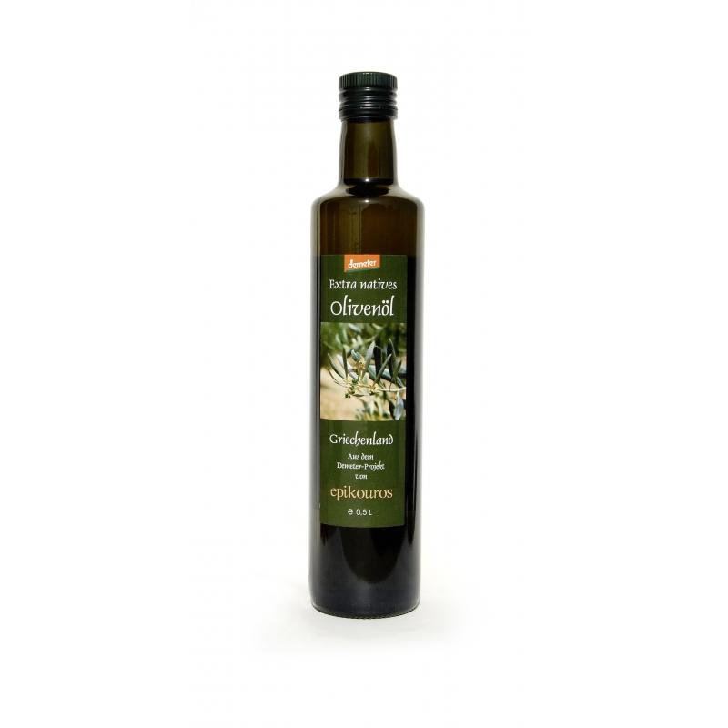 Epikouros Bio Demeter Olivenöl Kalamata