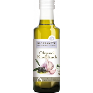 Bio Planète Bio Olivenöl und Knoblauch