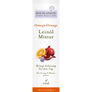 Bio Planète Bio Omega Orange Leinöl-Mixtur