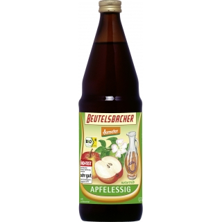 Beutelsbacher Bio Demeter Apfelessig naturtrüb
