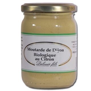 Delouis Bio Senf mit Zitrone