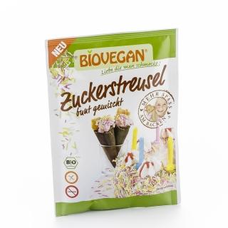 Biovegan Bio Dekor Zuckerstreusel bunt gemischt