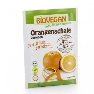 Biovegan Bio Orangenschale gerieben und gefriergetrocknet