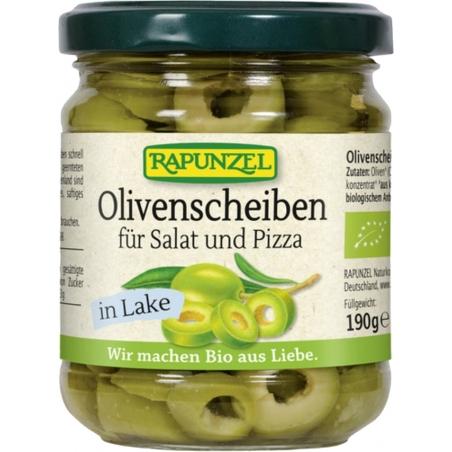 Rapunzel Bio Olivenscheiben grün für Salat und Pizza