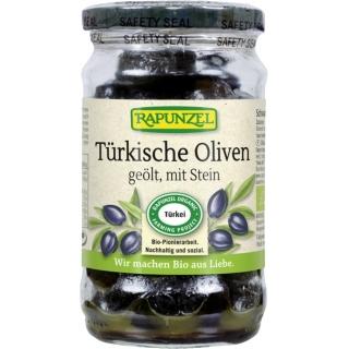 Rapunzel Bio Oliven schwarz mit Stein geölt