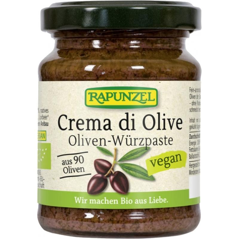 Rapunzel Bio Crema di Olive Oliven-Würzpaste
