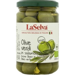 La Selva Bio Oliven grün in Salzlake