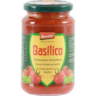 Vanadis Bio Demeter Tomatensauce mit Basilikum