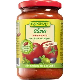 Rapunzel Bio Tomatensauce mit Oliven und Kapern