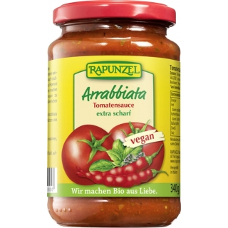 Rapunzel Bio Sauce Tomaten Arrabbiata
