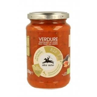 Alce Nero Bio Tomaten Sauce mit Gemüse