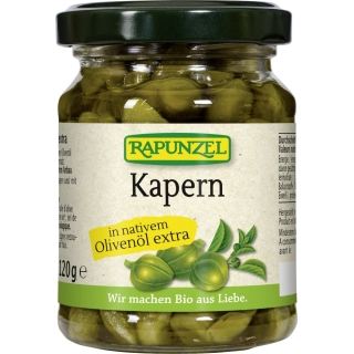 Rapunzel Bio Kapern in nativem Olivenöl extra