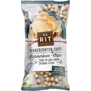 De Rit Bio Kichererbsen-Chips Meersalz