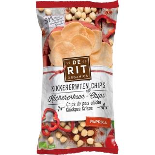 De Rit Bio Kichererbsen-Chips Paprika
