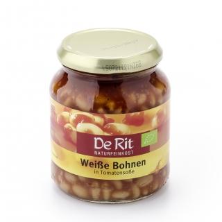 De Rit Bio Bohnen weiss in Tomatensauce