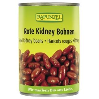 Rapunzel Bio Bohnen Kidney rot fertig gekocht