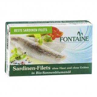Fontaine Sardinen